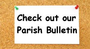 Latest Parish Bulletin